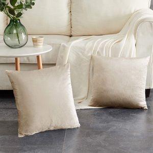 """Velvet Decorative Throw Pillow Covers,18x18"""""""